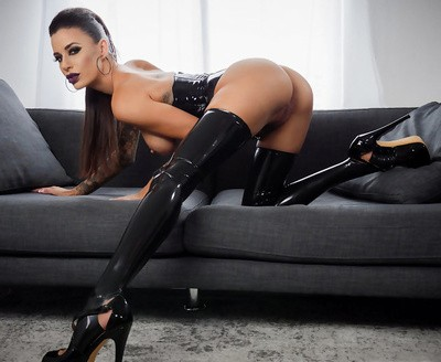 Dark-haired Gia Di Marco is a horny slut